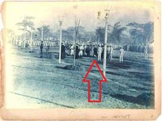 Jose Rizal's Execution December 1896 Photo was taken by Manuel Arias Rodriguez From Museo del Ejercito in Madrid, Spain The eight-man firing squad was composed of native Filipinos from the Spanish Infantry Regiment. Execution By Firing Squad, Emilio Aguinaldo, Fort Santiago, Jose Rizal, Intramuros, Bataan, American War, National Museum, Manila