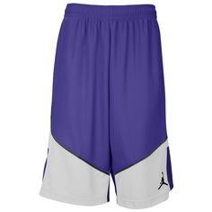 3d205ddc38f Air Jordan Nike Jumpman Prospect Mens Basketball Shorts Purple/White  #639207-423 #