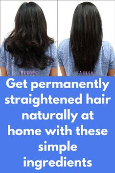 Get permanently straightened hair naturally at home with these simple ingredients Ingredients Required 2 tablespoons of olive oil 4 tablespoons of lemon juice 3 tablespoons of cornstarch 1 cup of coconut milk How To Apply Mix the ingredients in a large bowl. Stir this mixture continuously on medium heat until the consistency becomes creamy. Apply this mixture to your hair and then cover it with a …