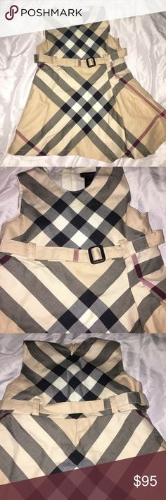 Burberry baby girl dress Burberry classic design 100% authentic Burberry Dresses Casual