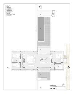 kaufmann house plan  Google Search  Design  Pinterest  Desert homes House plans and House floor plans