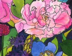 "Check out new work on my @Behance portfolio: ""Lavender & Roses Illustration"" http://on.be.net/1IQIxNj"