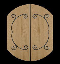 These with a dark stain husband Teen Closet, Dark Stains, Husband, Iron, Doors, Dark Spots, Steel, Gate