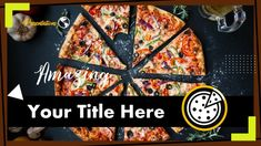 This Creative Free Pizza Presentation Template comes with various features : Easy to use and customize, Number of Various Creative. Microsoft Powerpoint, Ppt Template, Presentation Templates, Food And Drink, Pizza, Google