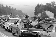 On the road to Woodstock, 1969