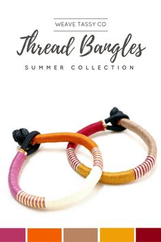Fall Vibes Bracelets by @WeaveTassyCo   This rope bracelet set are perfect for stacking with other layering bracelets. This boho rustic inspired bracelets gives off a bohemian feel that will make your outfit stand out. They're easy to wear, simple and can be used as an everyday accessory. Click to see more.