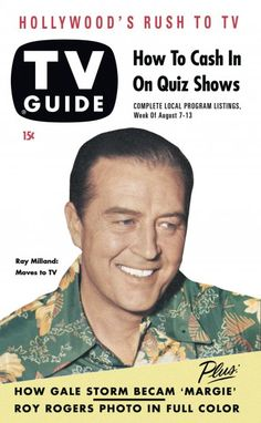 TV Guide, August 7, 1953