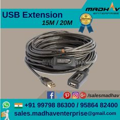 #USB #Extension available at #MadhavEnterprise #Surat #South #Gujarat #India #Supplier #Wholesaler