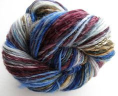 Handspun Yarn Pebbles Superwash Longwool Thick by HomespunForEwe