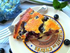 Stacey Snacks: Blueberry Chess Pie