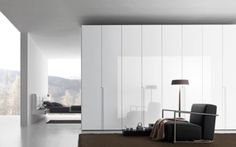 The Smooth design built-in wardrobe has hinged doors with internally adjustable shelving. Design hinged door wardrobes in Sydney contact us on 9719 Wardrobe Door Designs, Wardrobe Doors, Built In Wardrobe, Canapé Design, Modern Design, House Design, Interior Design, Armoire Design, Loft Stil