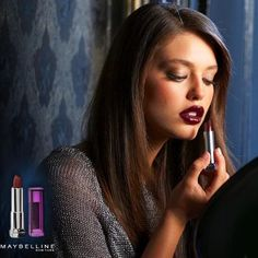 Color Sensational in 'Deepest Cherry,' as worn by Emily DiDonato. Yes, this works.