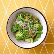 Risotto d'épeautre à la spiruline - une recette Détox verte - Cuisine