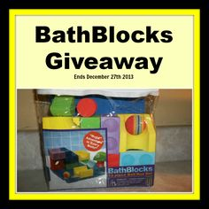 BathBlocks Giveaway Ends December 27th 2013