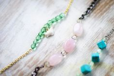 Learn how to make a bead bracelet with this easy DIY beaded bracelet tutorial. Features delicate beads from the new Martha Stewart jewelry line.