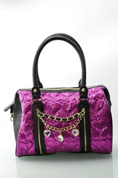 Betsey Johnson - High Sequency satchel