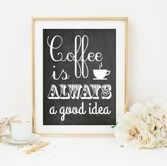 Coffee printable but first coffee kitchen by Designsbybiancab, $5.00