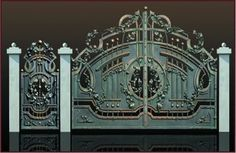زخرفي حديد بوابات ([ز-تم003]) الصورة في sa.Made-in-China.com