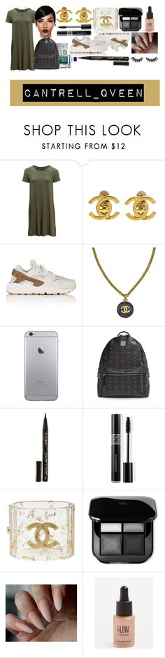 """""""so ready to go back to school !!! Like if u like. <3"""" by simplylala02 ❤ liked on Polyvore featuring United by Blue, Chanel, NIKE, MCM, Smith & Cult, Christian Dior, Topshop and Violet Voss"""