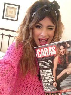 Martina Stoessel en laa revista Caras!!