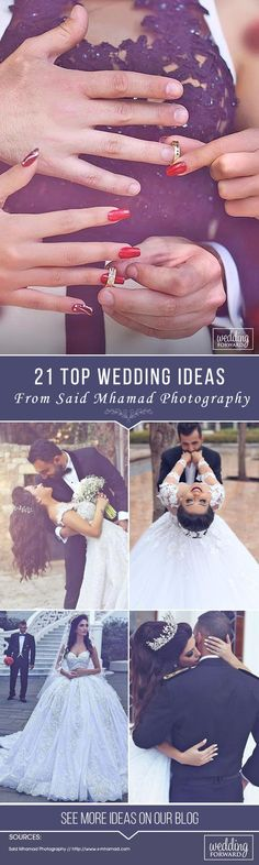 21 TOP Wedding Ideas From Said Mhamad Photography ❤ See more: http://www.weddingforward.com/top-wedding-ideas-part-3/ #wedding #photography