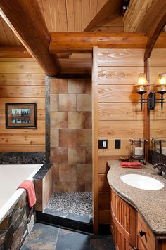 master bedrooms and bathrooms | Spaces » Bedroom and Bathrooms » Oregon Master Bathroom