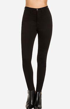 High Waist Skinnies in Black 1 - 9 | DAILYLOOK