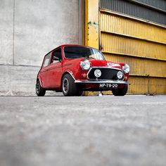 """Rare version of an icon: the 1980 Mini Sport came equipped with with 6"""" Cosmic wheels, revised wheel arches, auxiliary lights and a roll cage. This example is selling from @coolnvintage ($POR)   by classiccarchaser http://ift.tt/1DsDpTp"""