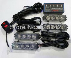 Light Led Outdoor On Sale At Reasonable Prices, Buy Ultra Bright LED Strobe  LED Emergency Vehicle Flashing Light For Front Grille/Deck   Blue And Red  Color ...