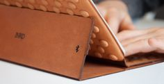 Typing Using the INKO Leather iPad Case