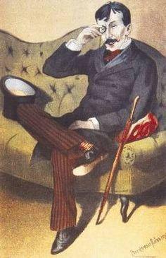 Eça de Queirós por Rafael Bordalo Pinheiro, 1880