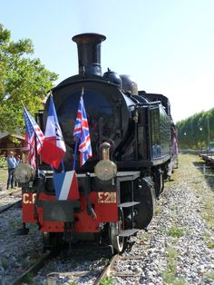 Chemins de fer de Provence - steam train @ Nice, France