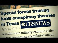 JUST IN: CBS National News targets JADE HELM Conspiracy Theorists - http://nnn.is/1dxeFxM