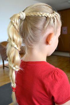 lacebraid ponytail