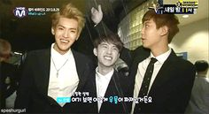 D.O is taller than me, so that means...(GIF)* I'm missing Wu YiFan's smile*