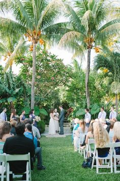 outdoor Sundy House wedding in Delray Beach, photo by sheachristine.com