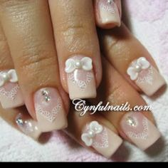 Wedding nails#Repin By:Pinterest++ for iPad#
