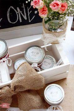 13 super cadeaux DIY à offrir aux invités de mariage