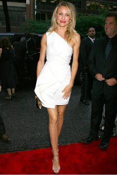 "Cameron Diaz in J. Mendel (2009 New York City premiere of ""My Sister's Keeper"")"