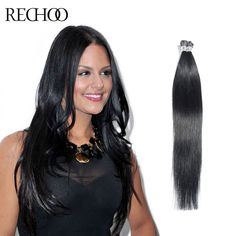 French kiss i tip 18 100 remy human hair extension straight rechoo i tip stick human hair extensions multi color hair extensions brazilian pre pmusecretfo Choice Image