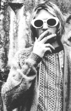 """I was a successful junkie for about a year—the only reason I was able to stay healthy and didn't have to rob houses was because I had a lot of money. I was up to $500 a day and it didn't do anything but keep me alive. When I finally quit, I had thirty days of excruciating pain."" -Kurt Cobain"