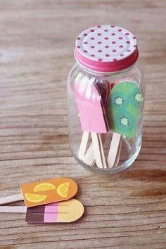 Leuk idee om met kids te maken.  Een ijsmemorie. Wat krijgt de winnaar? Een heerlijk ijsje;)