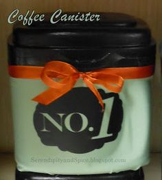 Serendipity and Spice: Best of Keurig Coffee Container Make a cute fabric coffee canister from an old baby formula container! Baby Formula Containers, Baby Food Containers, Reuse Containers, Storage Containers, Travel Snacks, Travel Mugs, Coffee Travel, Coffee Container, Start The Party