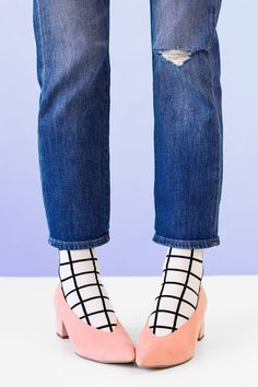 Studio DIY - Socks in Shoes: 7 Ways To Nail The Look! #whatifwednesday