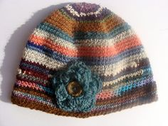 Alpaca Hat Hand Natural and Hand Dyed Color by TheFarmBoutique, $38.00