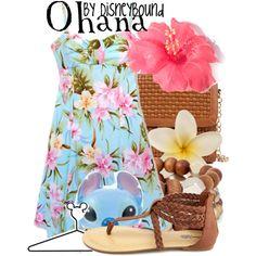 Disneybound: 'Ohana restaurant in the Polynesian Resort in Walt Disney World