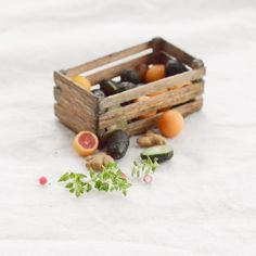 2017, Caja con vegetales♡ ♡ by Anastasya Ivanova