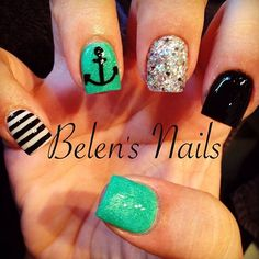 Acrylic nails by Belen