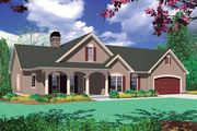 Houseplans.com Traditional Front Elevation Plan #48-101