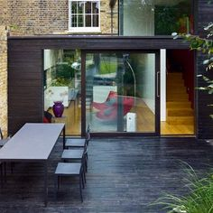 The one-stop edit of the best modern style inspiration and design ideas. Extension Veranda, House Extension Design, House Design, Conservatory Extension, Extension Ideas, Conservatory Flooring, Modern Conservatory, Glass Conservatory, Basement Conversion